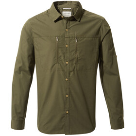 Craghoppers Kiwi Boulder Longsleeved Shirt Men dark khaki